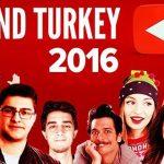 2016-2017 Türkiye'nin En Çok İzlenen Youtube Müzik  Videoları