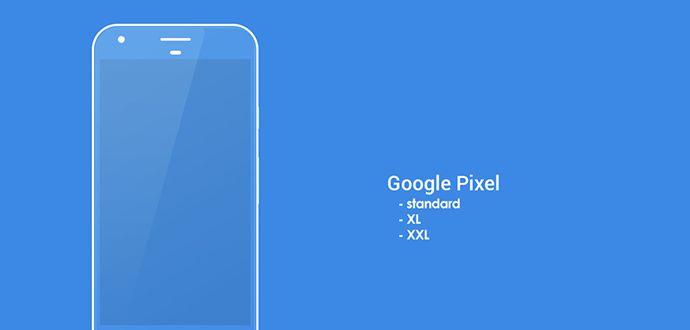 2017 Google Büyük Ekran Pixel XXL Cep telefonu