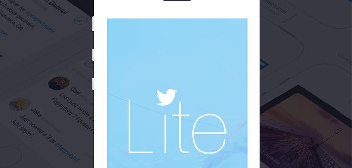 2017 twitter Lite Dosya Boyutu ve Kullanımı