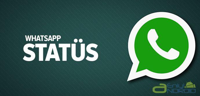 2017 Whatsapp Statüs Özelliği Nedir?