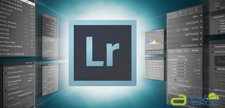 Adobe Lightroom RAW destekli Andoid Uygulaması
