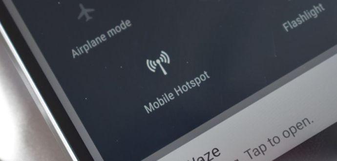 Android Instant Tethering Özelliği