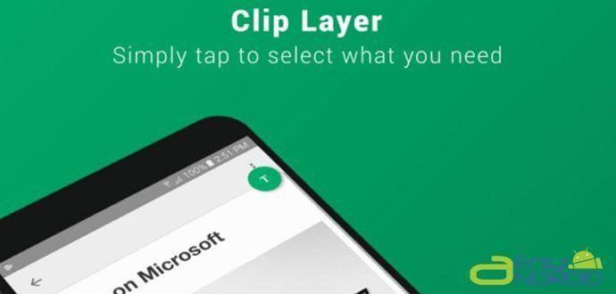 Android Kopyalama Sorunu Clip Layer