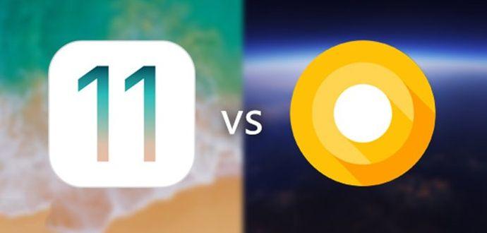 Android O mu iOS 11 Arasındaki benzerlikler ve Farklar