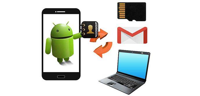 Android ve iPhone Telefonlarda Rehber Yedekleme, Rehber nasıl yedeklenir