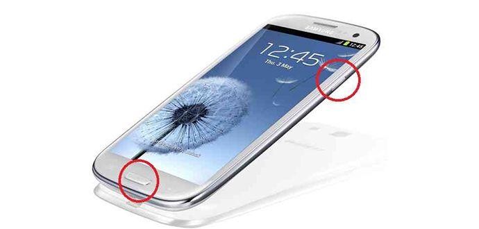 Cep telefonlarında Ekran Görüntüsü NsılAlınır
