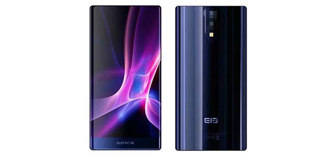 Çerçevesi olmayan telefon Elephone S8