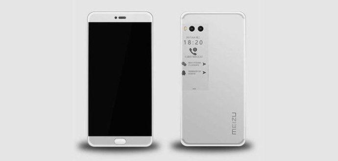 Çift Ekranı Olan Telefon Meizu Pro 7