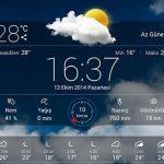 En Güzel Android Hava Durumu Uygulamaları İndirme Linkli