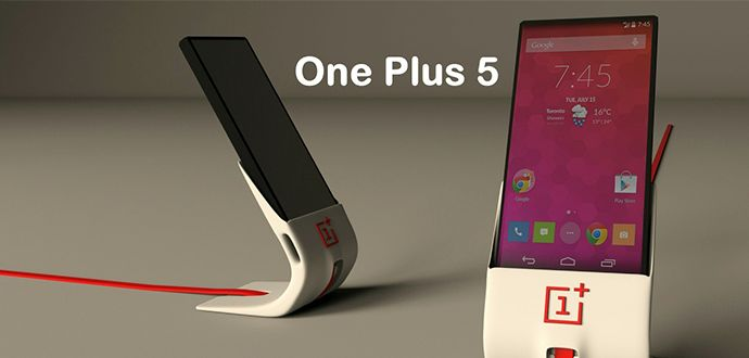 En ince Cep telefonu One Plus 5