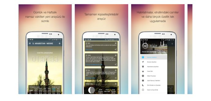 En İyi Android Namaz Vakti Ezan Uygulamaları İndir
