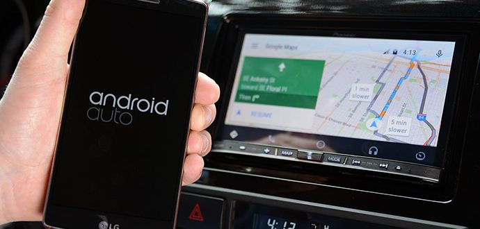 Fiat Chrysler ile Google Uconnect Araç Uygulaması
