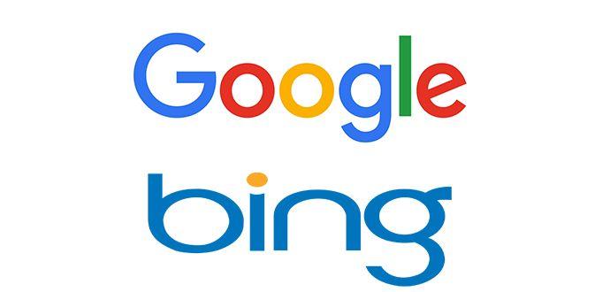 Google  Bing 2017 Korsan İçerik Filiteleme