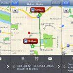 Google Transit Toplu Taşıma Uygulaması