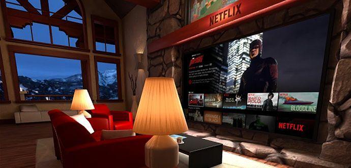 Netflix VR Sanal Gerçeklik Gözlük  Uygulaması İndir