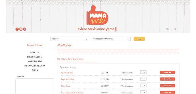 Online Anne Yemekleri Uygulaması MamaMe İndir