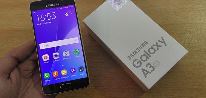 Samsung Galaxy A3 Modelinin 2017 Özellikleri Açıklandı