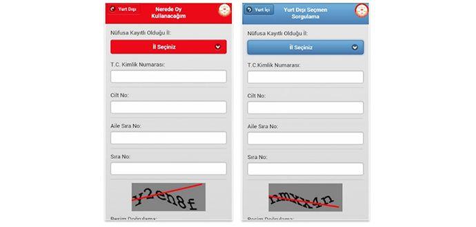 Seçmen Sorgulama Mobil Uygulaması İle Telefonunuzda