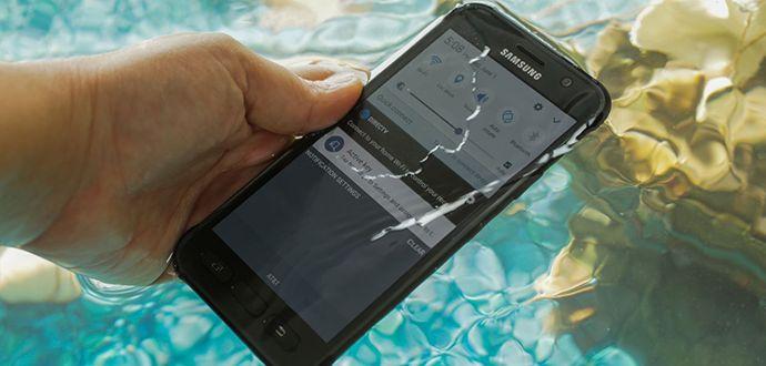 Su Geçirmeyen Galaxy S8 Active FCC