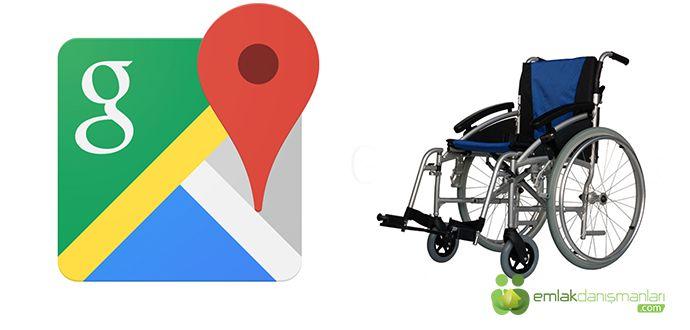 Tekerlekli Sandalye Google Maps Uygulaması İndir