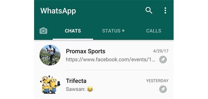 Whatsapp Arkadaşları Üstte Tutma özelliği Nasıl Kullanılır?
