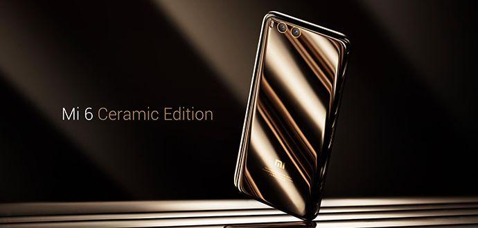 Xiaomi Mi 6 Ceramic Edition Cep telefonu Görüntüsü Özellikleri ve Fiyatı