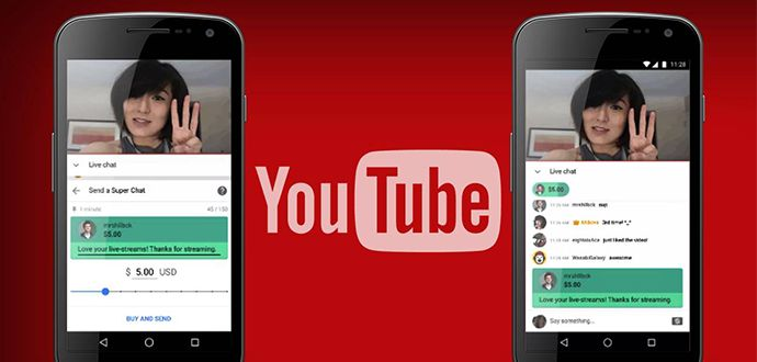 Youtube Süper Sohbet, Youtube Süper Sohbet Ücretleri