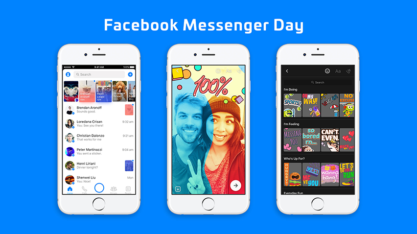 Facebook Stories ve Messenger Day Birleşiyor