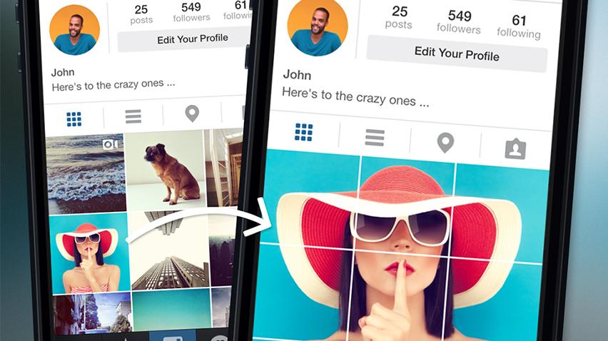 Instagram'a Çoklu Fotoğraf Yükleme