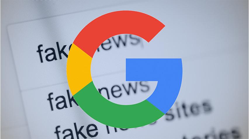 Googleda Sahte haberler Engellenecek