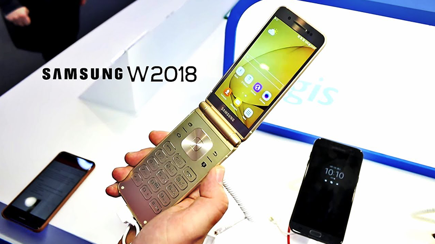 Samsungtan Kapaklı Cep telefonu Geliyor