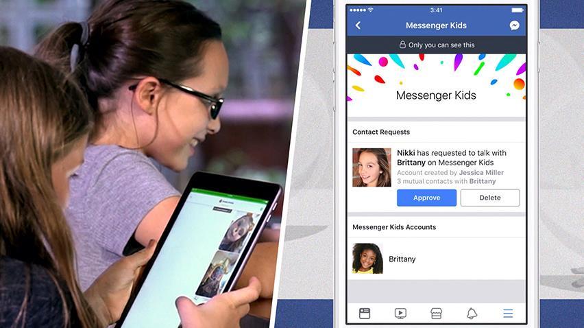 Çocuklara Özel Messenger Facebook'tan Geliyor