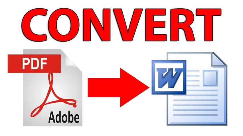PDF Dosyalarını Word Dokümanına Dönüştürün