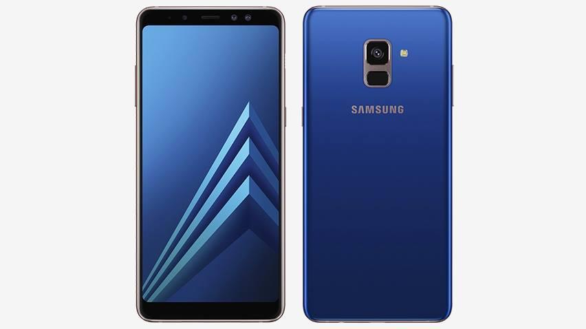 Galaxy A8 2018 Tanıtıldı