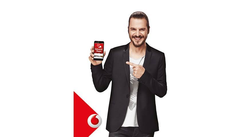 Vodafone Güvenli Depo ile Yedekleme