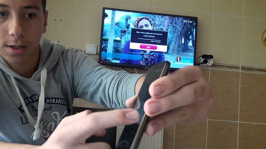 Smart TV için Android/iPhone Telefonlardan Ekran Görüntüsünü Aktarma