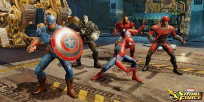 Marvel Strike Force şimdi iOS ve Android'de RPG Ücretsiz
