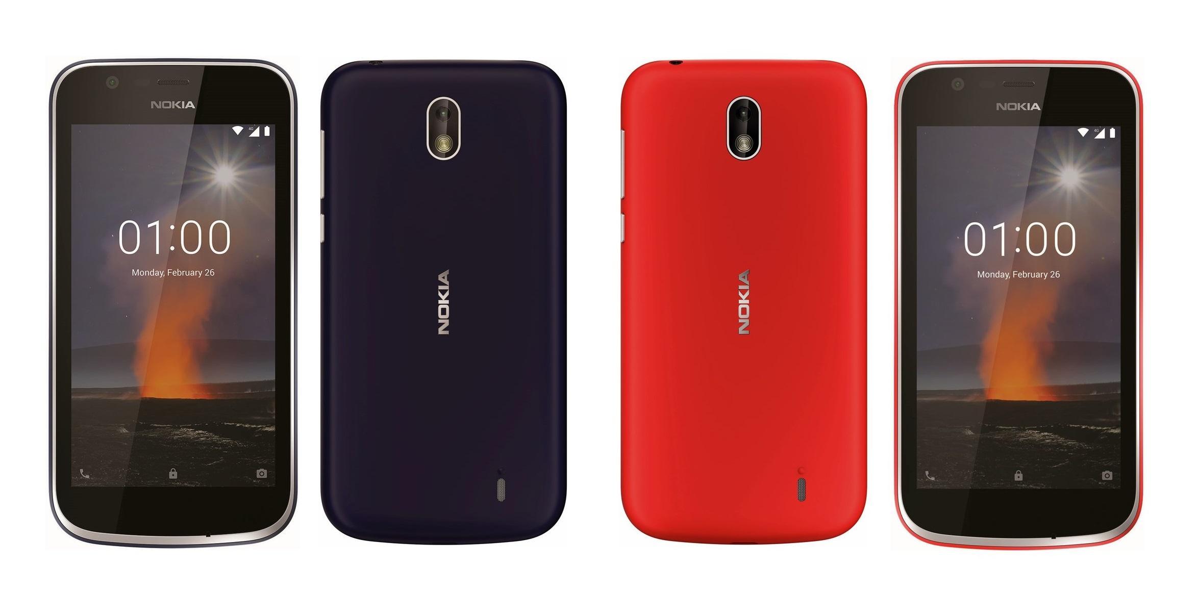 Hindistan'da Android Oreo (Go Edition) ile Nokia 1 piyasaya çıktı