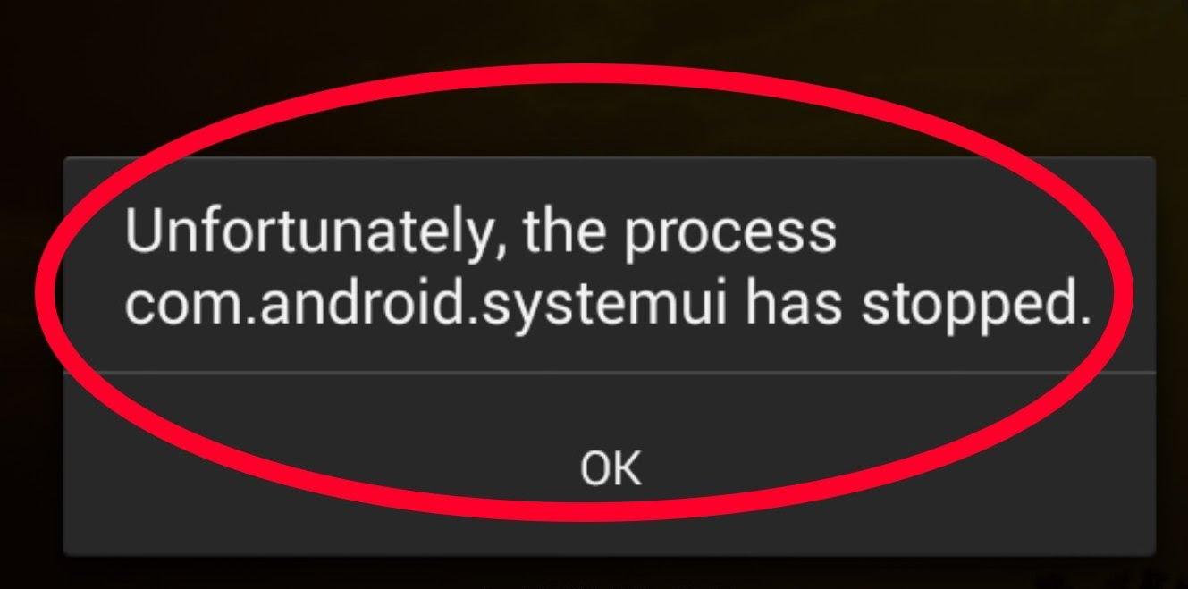 Telefonda Com.android.systemui durdu sorunun çözümü