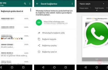 WhatsApp Grup Sohbeti Özelliği Tüm Cihazlara Geldi