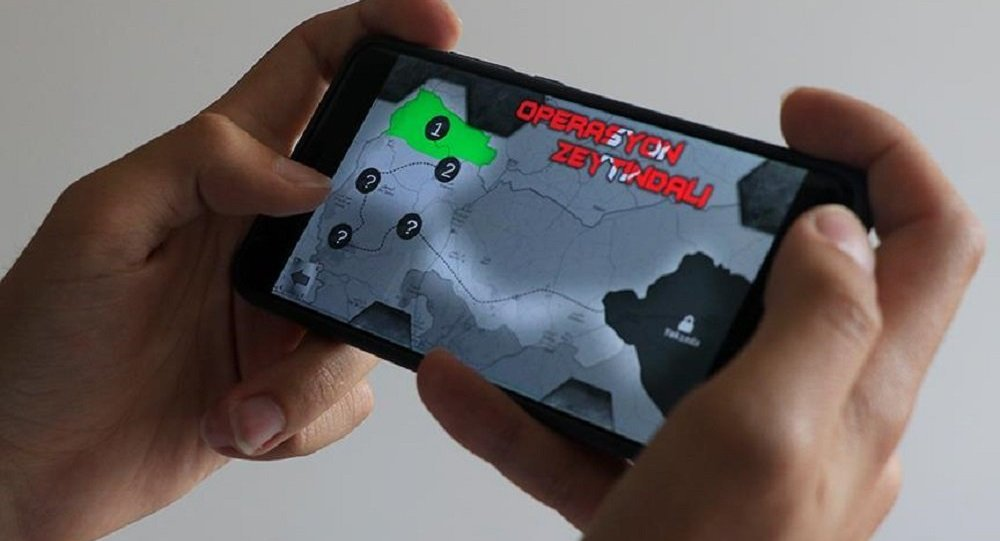 Zeytin Dalı Harekâtı Mobil Oyun Oldu
