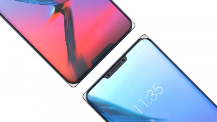 İki Çentikli ZTE Iceberg Cep telefonu