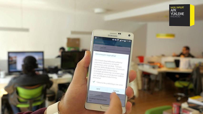 Android Bilinmeyen Kaynaklar Açılmıyor