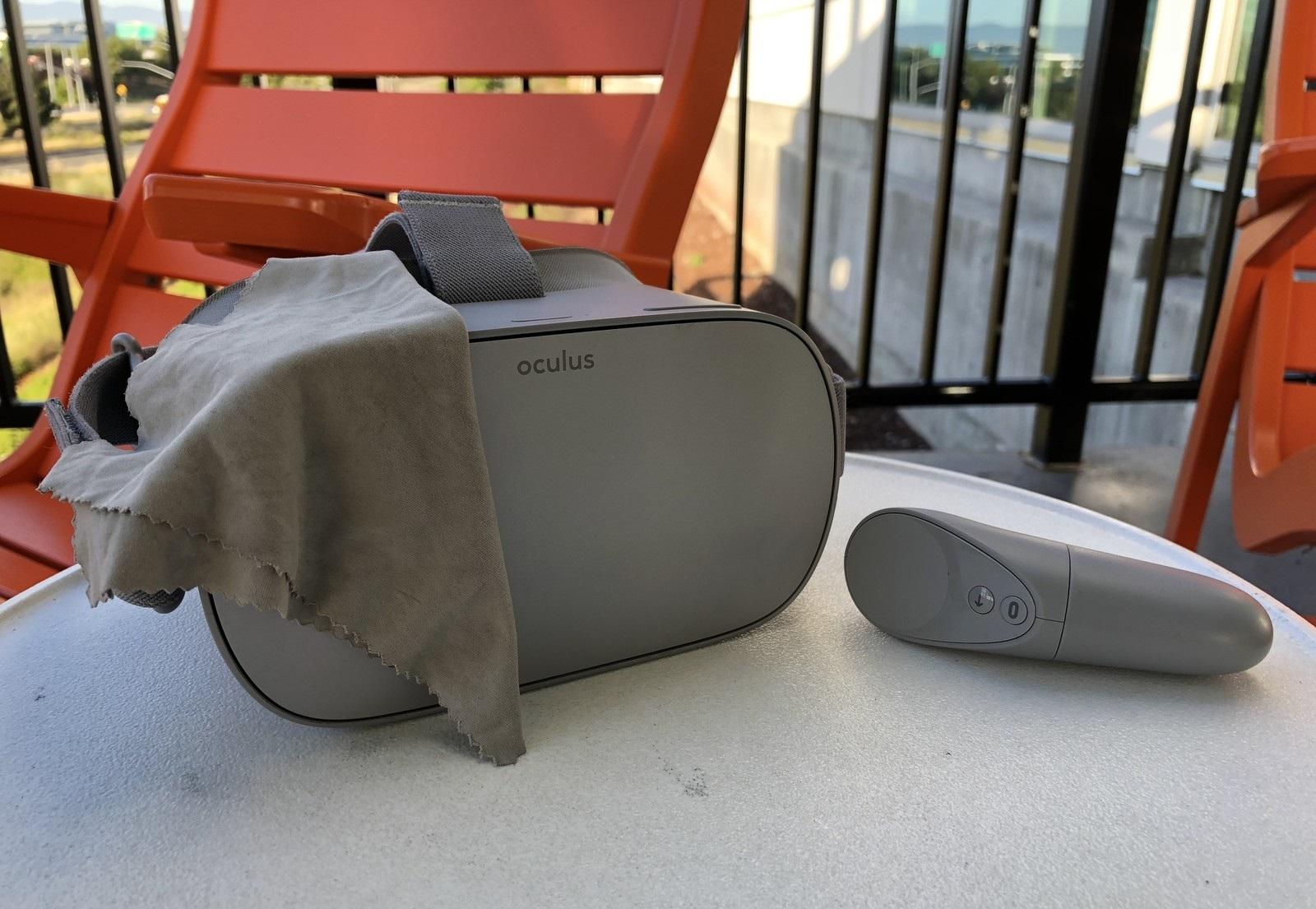 Oculus Go nasıl temizlenir