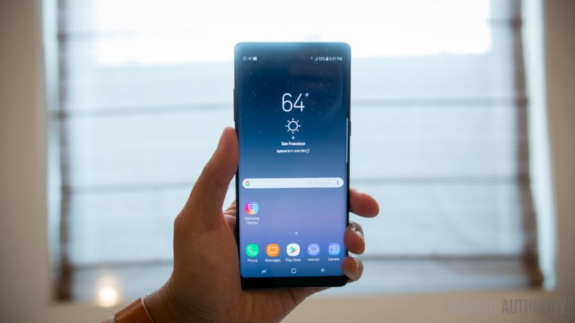 Samsung Galaxy Note 8 sorunları ve çözümü