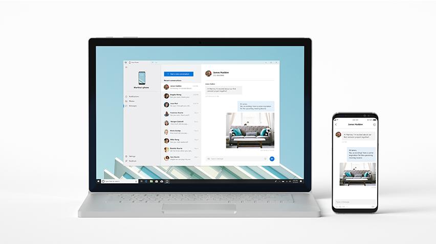 Windows Your Phone Özelliği Kullanıma Sunulacak