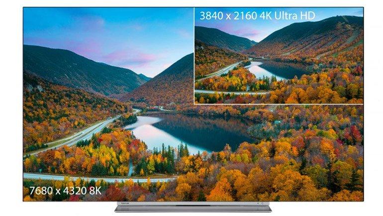 Toshiba, 8K Televizyon Duyurdu