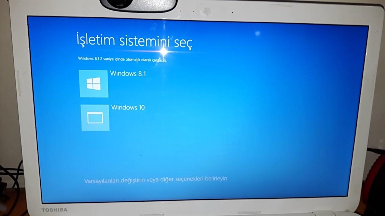 Bilgisayarıma iki işletim sistemi yüklemek mümkün mü?