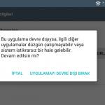 Android'de hangi sistem uygulamaları devre dışı bırakılabilir?