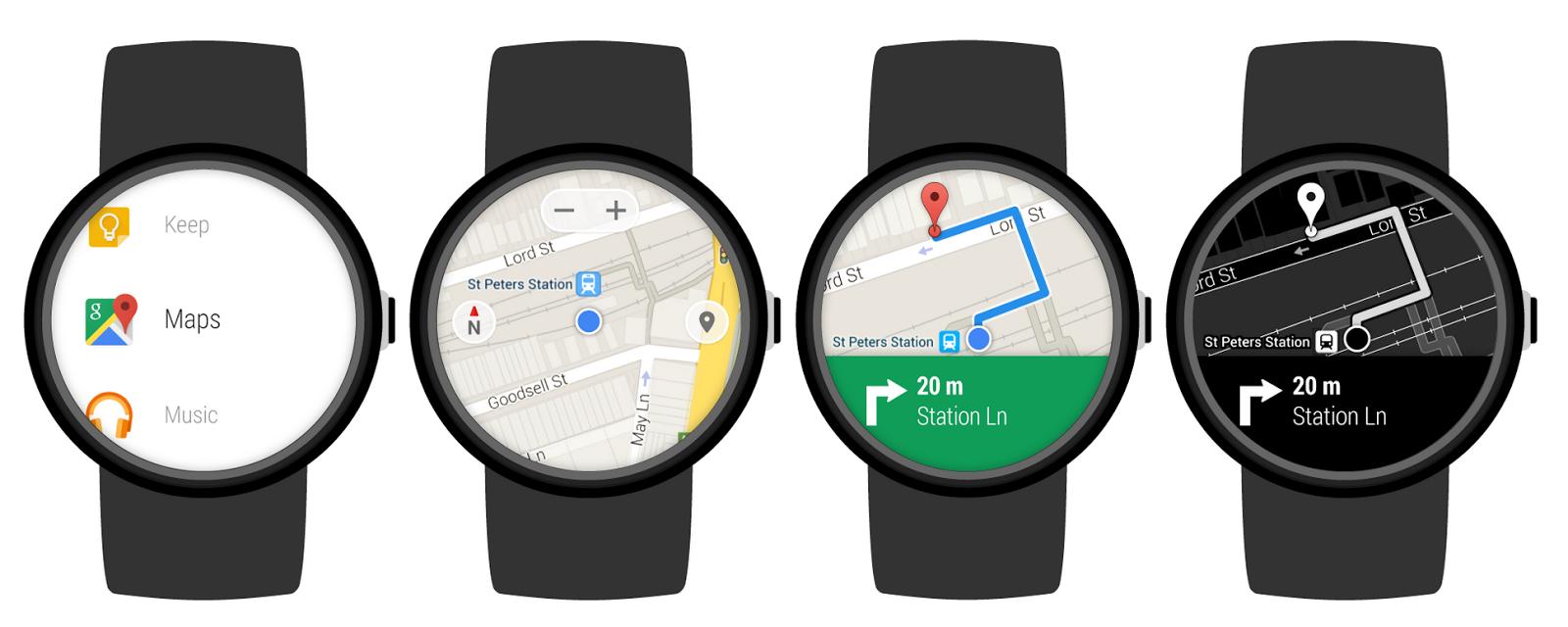 Android Wear akıllı saatlerinde Google Haritalar nasıl kullanılır?